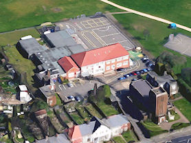 Our school from above (c) Google Maps